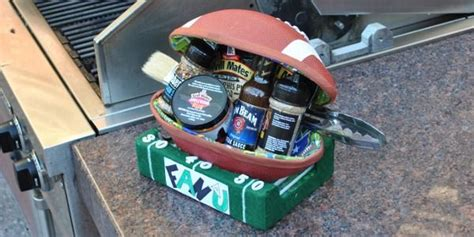 cool gifts for football fans fan of u football gift set silent auction idea cool