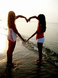 beach, bestfriends, fashion, friends - image #532205 on ...