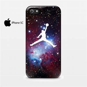 Michael Air Jordan Art Jumping Star Cone Nebula iPhone 5C ...