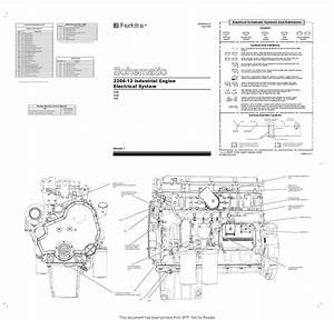 2200 Perkins Series Electrical Schematic By Power