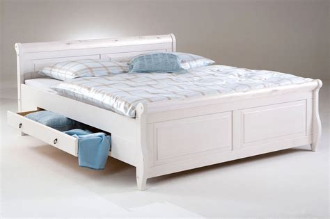 Doppelbett Mit Schubladen by Landhaus Bett Weiss 180x200 Preisvergleiche