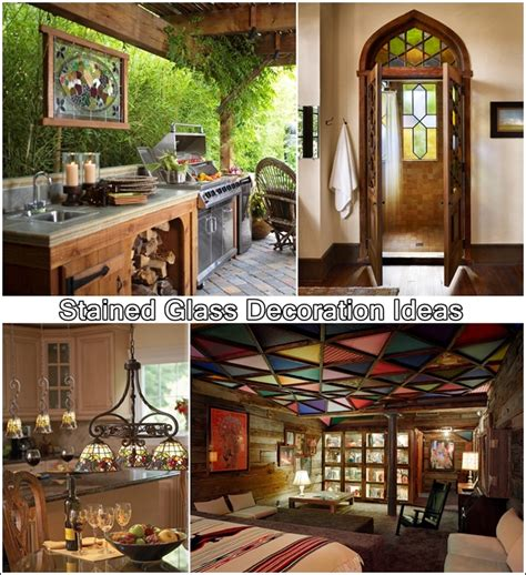 5 Superb Concepts To Embellish Your Home With Stained