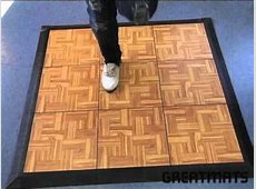 Tap Dance Floor Board Kit of 9 Tiles Greatmats YouTube