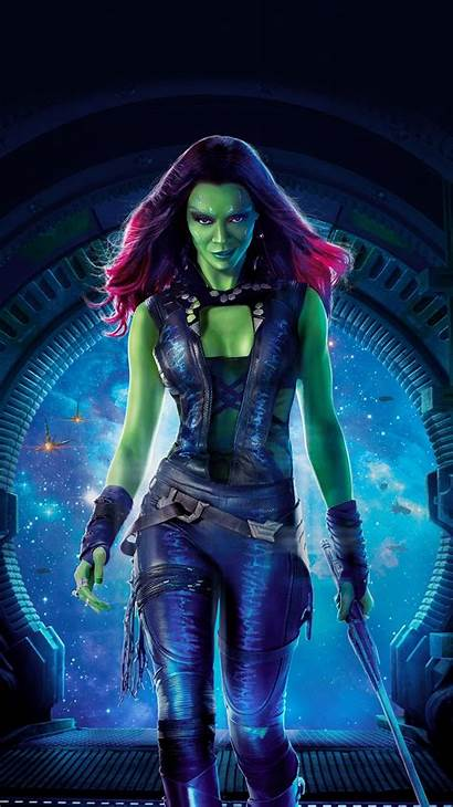 Gamora Marvel Guardians Galaxy Character Comics Zoe