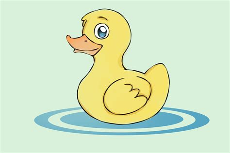 How To Draw Ducks With Pictures Wikihow