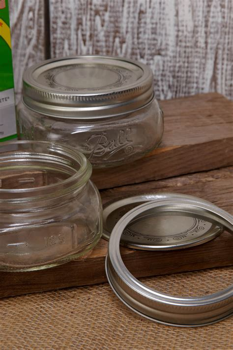 ball jars collection elite wide mouth oz pack