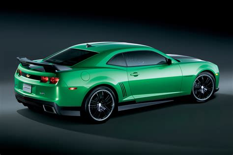 Green With Envy 2010 Camaro Synergy Special Edition