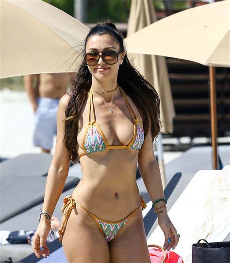 morgane polanski bikini metisha schaefer stills in bikini on the beach in miami
