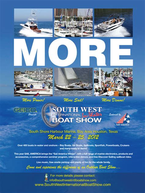 Houston Sail Boat Show by South West International Boat Show 2012 Houston