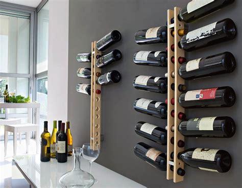 porta bottiglie  vino  legno   metallo le