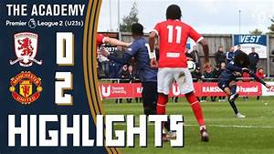 The Academy | U23 Highlights | Middlesbrough 0-2 ...