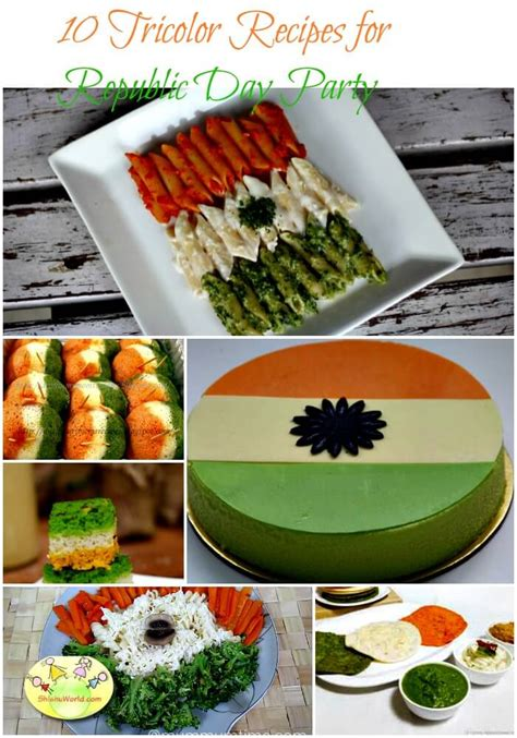 tricolor food ideas  celebrate republic dayindependence day