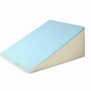 bed wedge support pillow blue ebay With diy mattress wedge