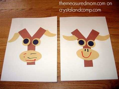 7 letter y crafts and process for preschoolers the 743   letter y craft 4 the measured mom