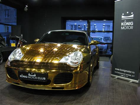 gold porsche truck buy a gold scaly porsche 996 turbo cabriolet for 61 000