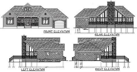 Plan 90074PD: Dramatic Windows Sloping lot house plan