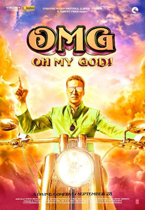 Your walls are a reflection of your personality, so let them speak with your favorite quotes, art, or designs printed on our custom posters! Download OMG Oh My God! (2012) Movie HD Official Poster 1 - BollywoodMDB