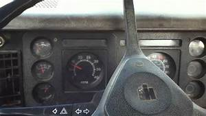 1985 International S1700 Dump-truck Start-up