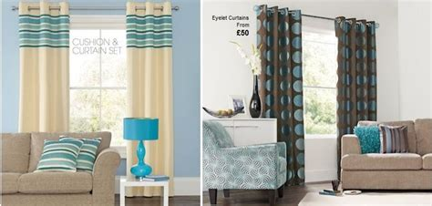 teal accented rooms cream teal  brown curtains