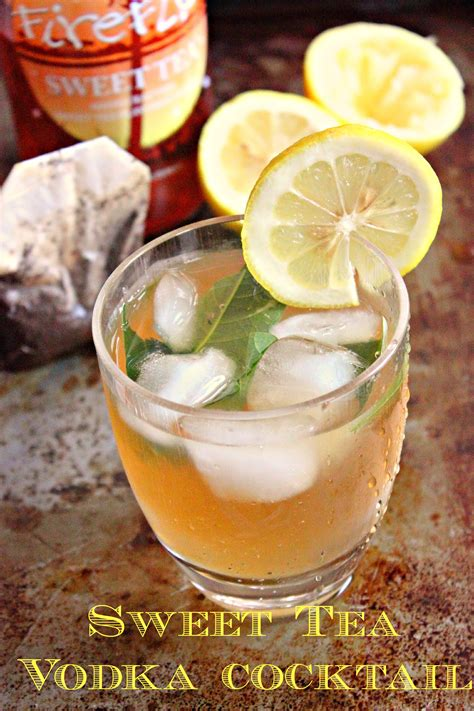 sweet mixed drinks 18 iced tea cocktails that are seriously refreshing