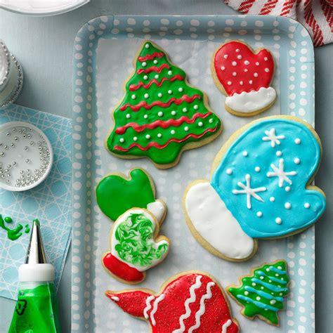 Lejupielādēt 121 046 christmas cookie attēlus un datu bāzes fotoattēlus. Holiday Cutout Cookies Recipe | Taste of Home
