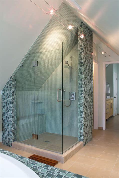 attic bathroom remodel     bath