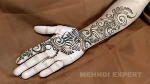 New Modern Style Arabic Mehndi or Henna Design for all ...