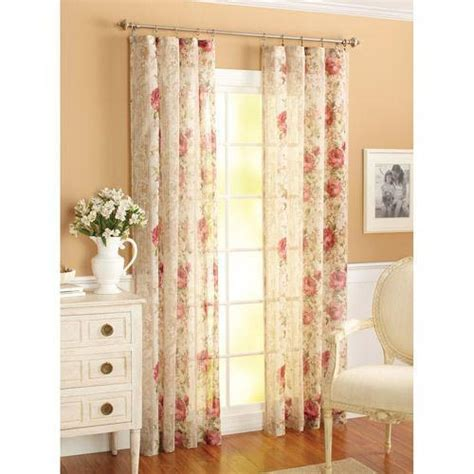 window curtains garden better homes and gardens curtains ebay