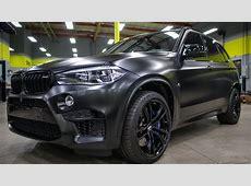 SD WRAP BMW X5M MURDERED OUTcomplete wrapwheels