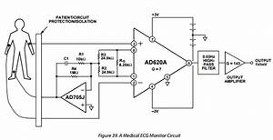instrumentation amplifier why feed back the common mode With ecg circuit