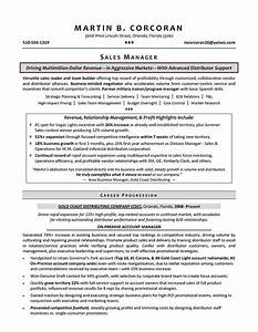 sales manager resume samples sample resumes With best sales resume