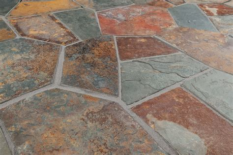 flagstone slate tile roterra slate tile meshed back patterns california gold flag stone pattern large