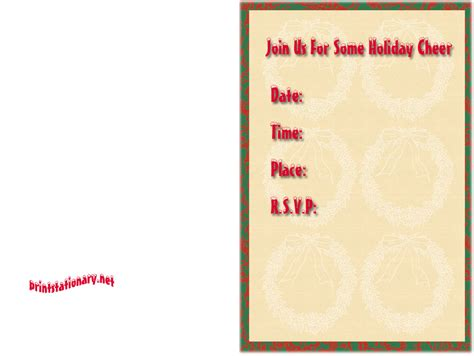 printable christmas invitations christmas party invitations photos bloguez com