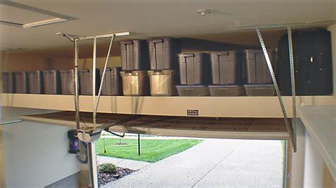 high resolution garage overhead storage diy 5 build