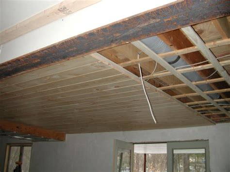 basement ceiling ideas 01 after letting the cement set plinio came alone today to