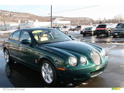 Green Jaguar Car by 2005 Jaguar Racing Green Jaguar S Type R 3215690