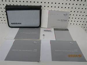 2008 Nissan Altima Owners Manual Set Free Shipping