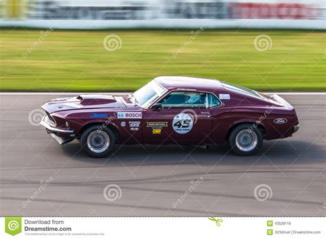 Ford Mustang Racing Car Editorial Photo Image 43528116