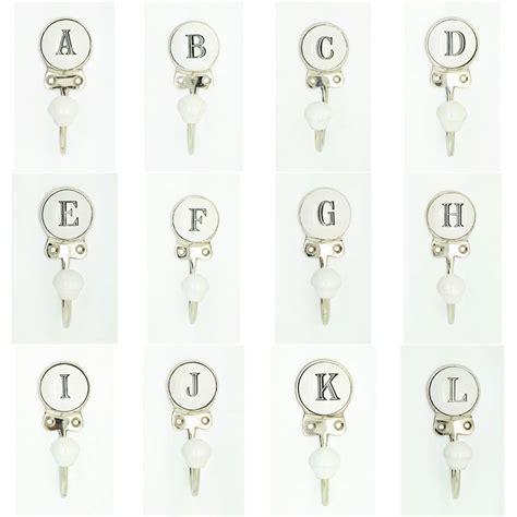 ceramic alphabet or number letter wall coat rack hook by g ceramic alphabet or number letter wall coat rack hook by g 77553