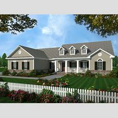 Southern, Traditional, Country House Plans  Home Design