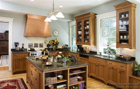 craftsman kitchen designs craftsman kitchen design ideas and photo gallery 2985