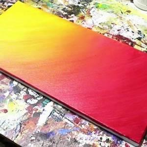 Faire Un Dégradé : comment faire un d grad avec de la peinture facilement ~ Melissatoandfro.com Idées de Décoration