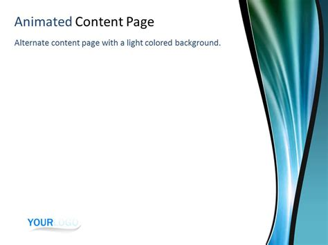 cool templates cool solar wave a powerpoint template from presentermedia