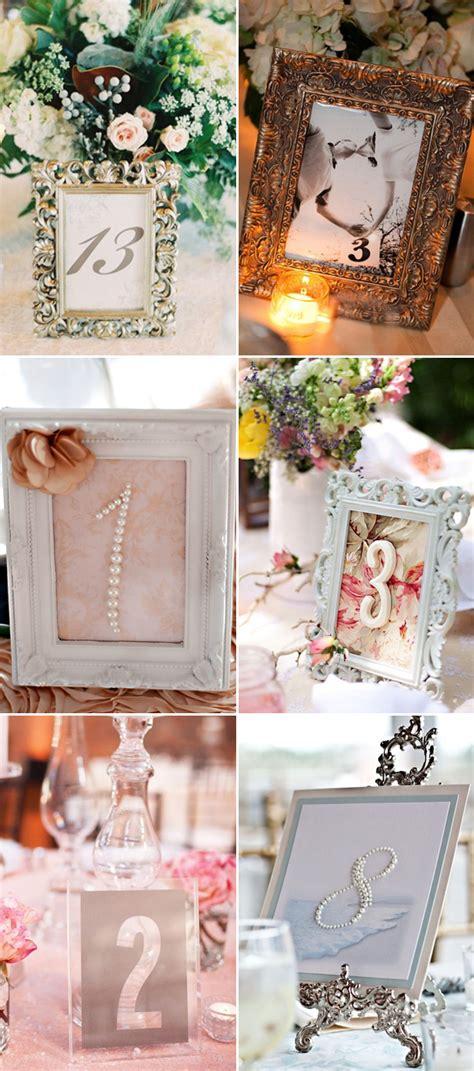 51 Creative Diy Wedding Table Number Ideas Deer Pearl
