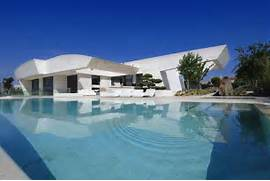 Modern Houses With Pool Awesome Pool Designs Of Fountain And Other Options