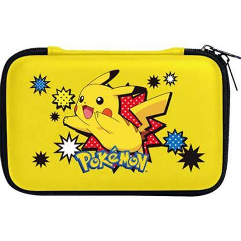 housse protection sacoche rigide pikachu 3ds xl