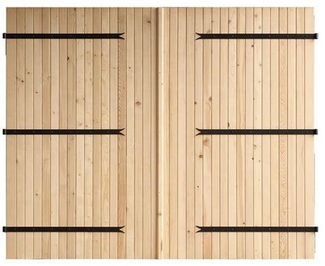 d馗oration porte de chambre porte de garage coulissante bois pas cher maison travaux