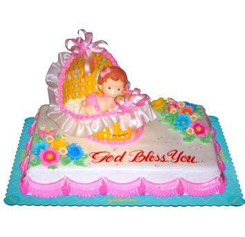 baptismal cake  goldilocks emas baptism party ideas