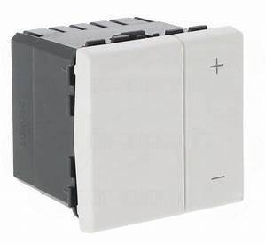 Variateur De Lumiere Legrand : variateur de lumi re 2 modules blanc 600 w legrand mosaic ~ Dailycaller-alerts.com Idées de Décoration