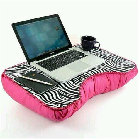 diy lap desk pillow zebra pink laptop pillow cute techs pinterest